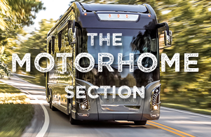 The motorhome section