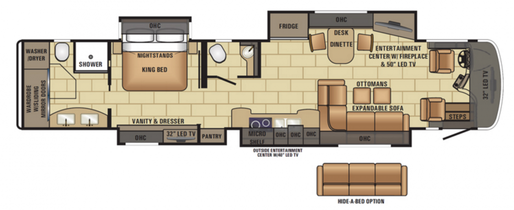 Entegra Cornerstone Floor Plan 45B