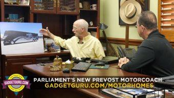 Parliament Prevost Converter Building Coach With 48 Hour Lithium Power