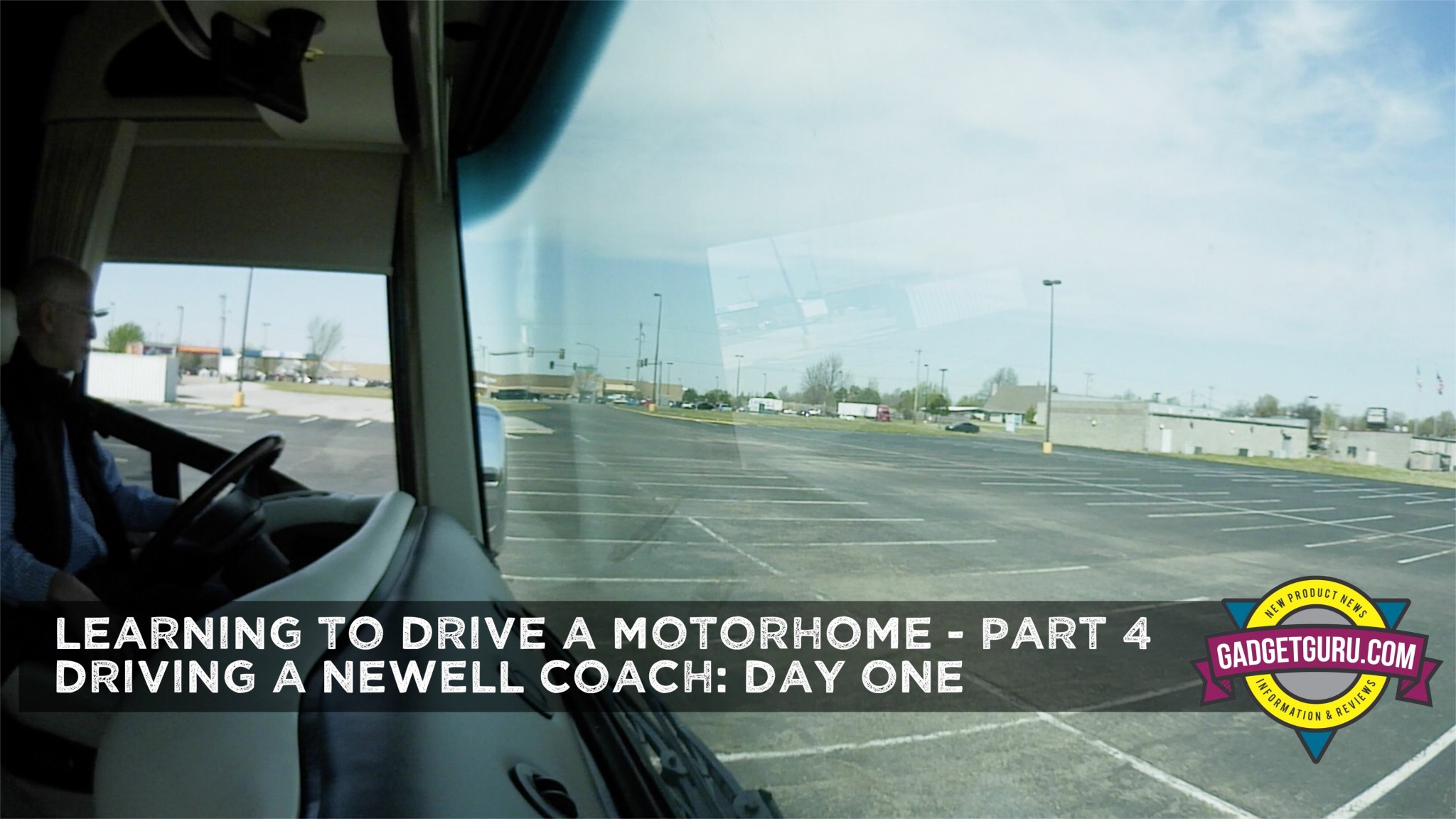 Gadget Guru Chapter 9 Learning To Drive A Motorhome Part