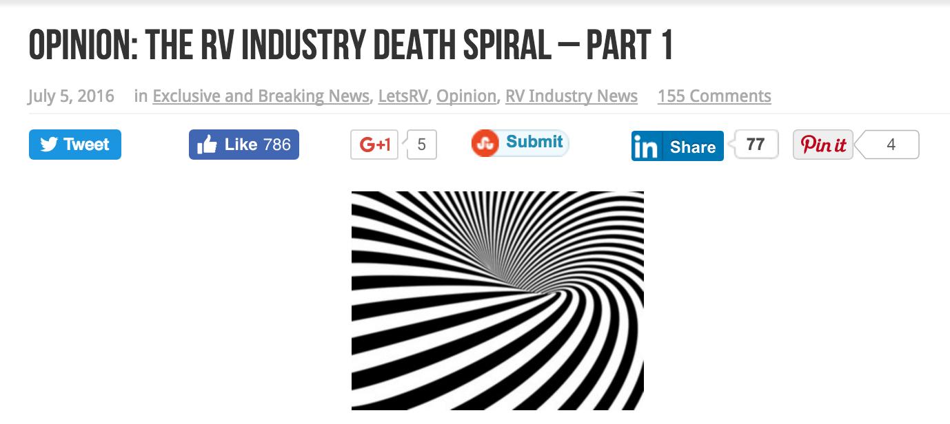RV Death Spiral