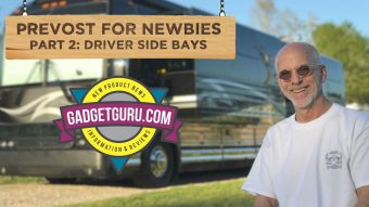 Prevost For Newbies Part 2: The Drivers, Or Working Side Of The Bus