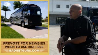 Prevost For Newbies Part 4: When To Use High Idle