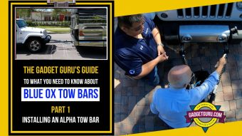 What You Need To Know About Blue Ox Tow Bars – Connecting An Alpha or Ascent Tow Bar