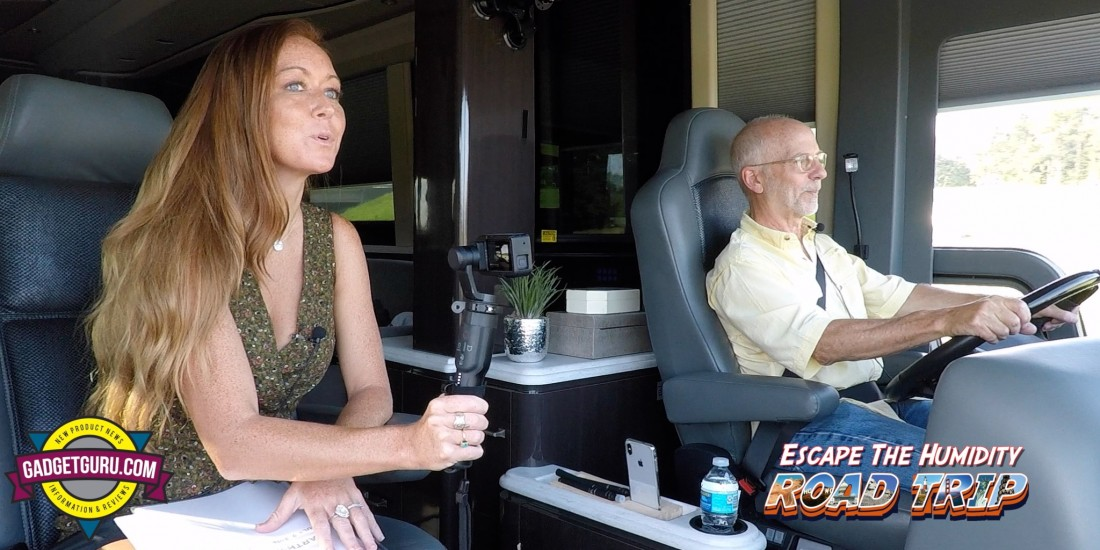 Gadget Guru Escape The Humidity Road Trip