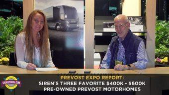 Prevost Expo: Siren's Three Favorite Pre-Owned Prevost Motorhomes