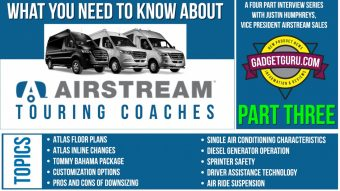 Part Three: Airstream Atlas  and Interstate Sprinter Van - What You Need To Know