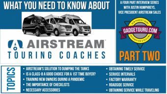 Part Two: What You Need To Know About Airstream Sprinter Touring Coaches
