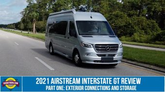 2021 Airstream Interstate GT Feature Review - Part 1 - Exterior Connections and Storage